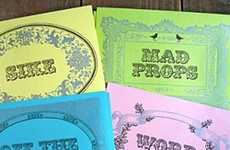 Sweet Slanged Cards - Say What You Feel with the Greenwich Letterpress Mixed Slang Cards