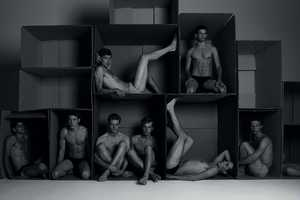 The Milan Vukmirovic 'Boxes' Spread Shows Sensual Scenes