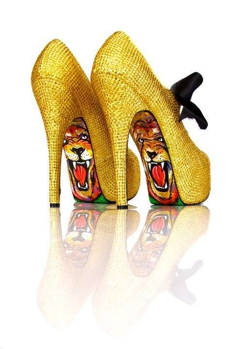 Hidden Pop Art Stilettos