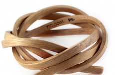 Wearable Woodland Art - This Gustav Reyes Natural Wood Jewelry Keeps You in Touch with Nature