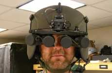 360-Degree Viewing Helmets - Soldier Centric Imaging via Computational Cameras Offer Superman Sight