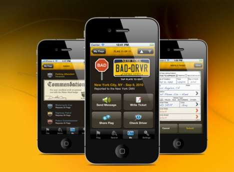 Tattletale Driving Apps - The Drive Me Crazy App Lets You Report Bad Drivers