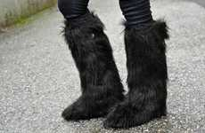 Fabulously Furry Footwear