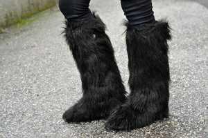 Lookbook.nu User Chiara F Rocks a Haute Animalistic Look