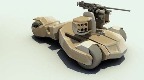 Comic-Inspired Armored Vehicles