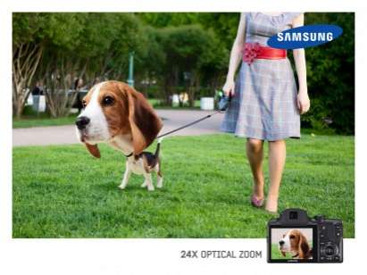 samsung optical zoom campaign