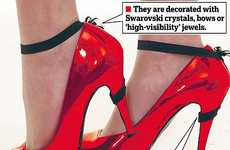 Feminine Footwear Savers - Stumble-Free Stiletto Suspenders Will Change Your Life