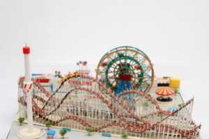 Yumiko Matsui Recreates Coney Island in Perfect Papercraft