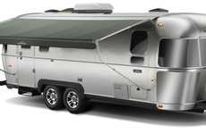 Sleek Motor Homes - Eddie Bauer Airstream Travel Trailer Brings Ultimate Comfort to the Oudoors