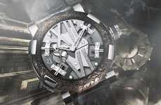 Fabulous Steampunk Watches - The Romain Jerome RJ Steampunk Watch is Sheer Masculinity