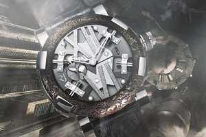 The Romain Jerome RJ Steampunk Watch is Sheer Masculinity