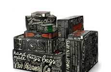 Graffiti Accessory Packaging - Doodle-Covered Cardboard Boxes by Peter Gregson
