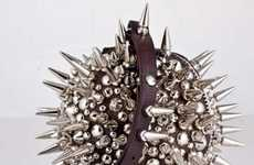 Exploding Bomb Handbags - Dafne Balatsos' Stud Ball is a Lipstick Holder and Weapon in One