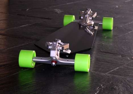 Rip-Roaring Rides - The DaPowa Skateboard is for Those with the Need for Speed