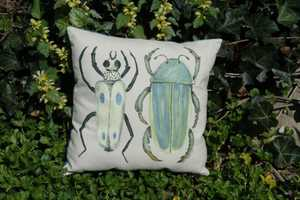 'Biology Major' Makes Hand-Painted Nature Inspired Pillows