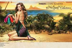The Gisele Bundchen Ipanema Hot Sands Collection Campaign