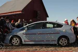 Toyota Prius gets a Cozy Covering for the Holidays