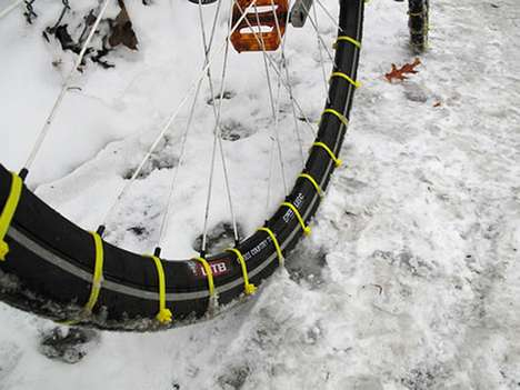 Zip Tie Snow Tires