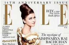 Skin-Lightening Controversies - The Controversial Elle January 2011 Aishwarya Rai Cover Causes Buzz