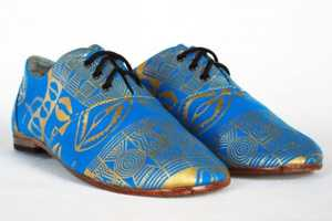 These Osborn Design Studio Shoes Conjure Patterns from the Past