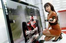 Monstrous 3D Screens - World's Largest LG LED 3D TV is a Whopping 72 Inches in Size