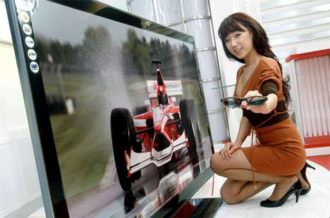 LG LED 3D TV
