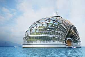 The Remistudio Ark Hotel is an Intricate Build