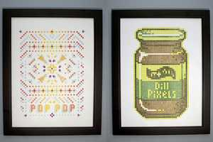 Pixel Art Takes a New Shape with LEGO Printing