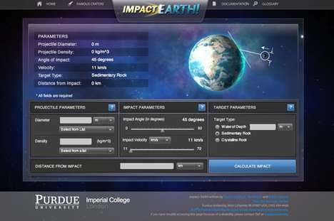 Asteroid Impact Calculator