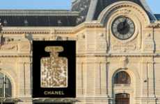 A Scintillating Chanel No.5 Adorns the Musee d'Orsay
