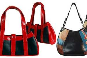 The Passchal Eco-Luxury Handbags are Made from Tires and Leather