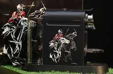 The Polo CitiZ Machine Limited Edition Coffee Maker Celebrates the Sport