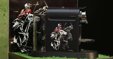 Equine Coffee Machines - The Polo CitiZ Machine Limited Edition Coffee Maker Celebrates the Sport