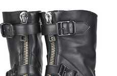 The Chic Burberry Shearling-Lined Ankle Boots
