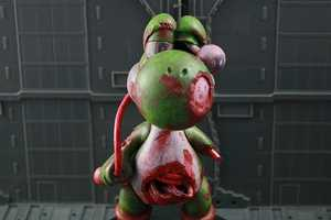 Kodykoala Yoshi Toy is One Bloody Zombie