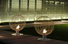 The Mario Mazzer Bioethanol 'Globe' Fireplace Adds Character to Any Home