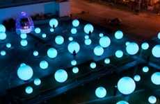 The 'DJ Light' Installation will Captivate All Passersby