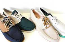 Two-Toned Canvas Shoes
