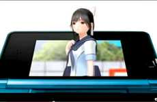 Anti-Cheater Devices - The LovePlus Nintendo 3DS Game Puts the Virtual Girlfriend on Lockdown