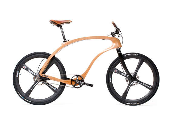 Handcrafted Wooden Bicycles