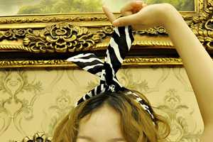 Be Mine Hair Wraps Offer a Modern Take on a Vintage Accessory