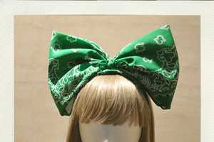 The Be Mine Sweet Super Bow is an Innocence-Adding Accessory