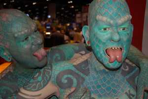 Ripley's Builds an Army of Lizard Men Modeled After Erik Sprague
