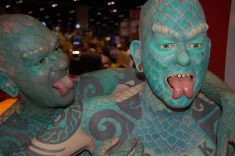 Ripley&#8217;s Builds Army Of Lizard Men