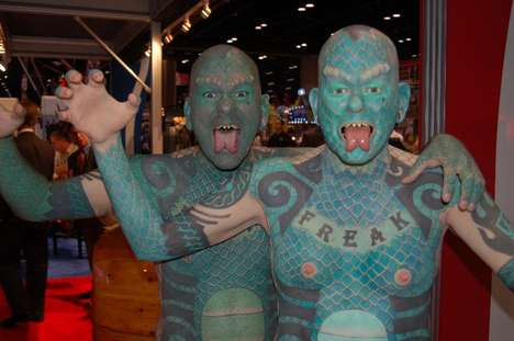 Ripley's Builds Army Of Lizard Men