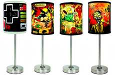 Nerdy Night Lights - The 'Lamp in a Box' Light Fixtures Show Your Grown-Up Geekiness