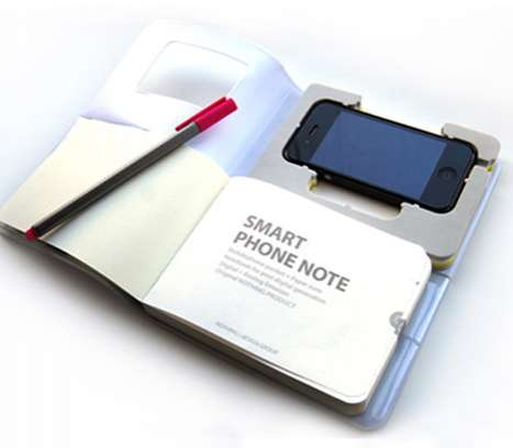 iPhone Notebooks - Smart Phone Notes Incorporates Old & New School Note-Taking Ways