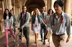 Preppy Campus Looks - Esprit Spring Summer 2011 Campaign is Too Cool for School