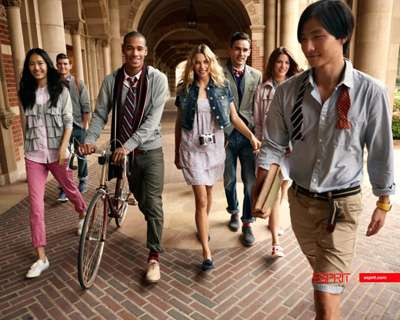 Preppy Campus Looks - Esprit Spring Summer Campaign is Too Cool for School