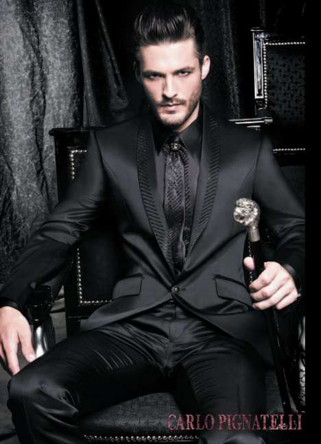 Modern Mafia Looks - You Don't Want to Mess With the Carlo Pignatelli Spring 2011 Collection